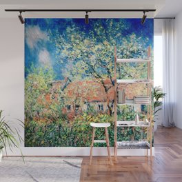 Springtime at Giverny Wall Mural