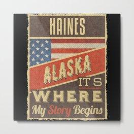 Haines Alaska Metal Print