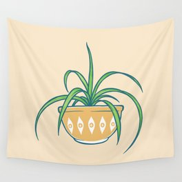 Spider Plant Wall Tapestry