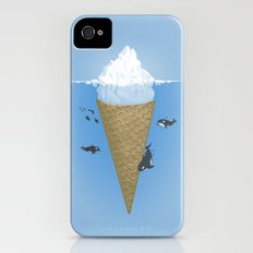 Hidden part of icebergs iPhone (4, 4s) Slim Case