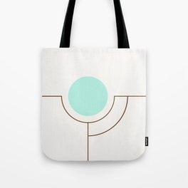 Balm 05 // ABSTRACT GEOMETRY MINIMALIST ILLUSTRATION by Tote Bag