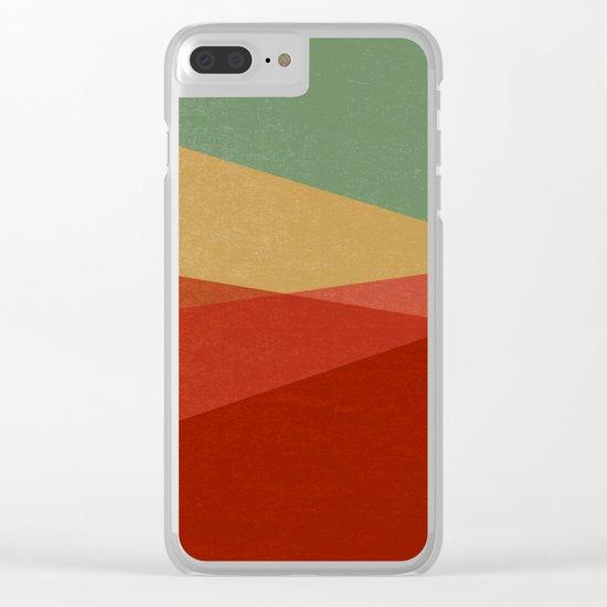 Stripe IX Modern Century Clear iPhone Case