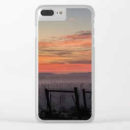 morning sky Clear iPhone Case