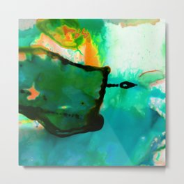 Abstract Bliss 4P by Kathy Morton Stanion Metal Print