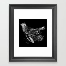 Bird Wanderlust Framed Art Print