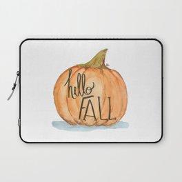 Hello fall pumpkin Laptop Sleeve