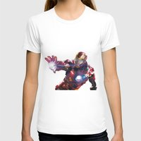 iron man T-shirts featuring Iron man by Gary Reddin