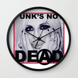 PUNK'S NOT DEAD Wall Clock