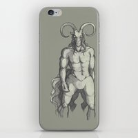 diablo iPhone & iPod Skins featuring Diablo by ChaoticWaffle