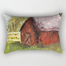 Countryside Barn Rectangular Pillow