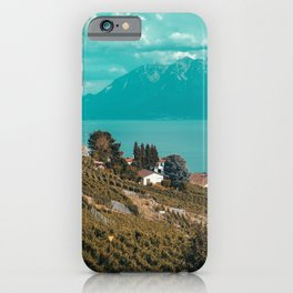 Lake Geneva Vineyards  iPhone Case