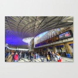 Kings Cross Station London Canvas Print