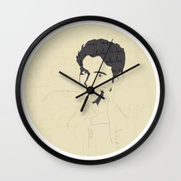 Federico García Lorca Wall Clock