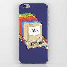 Macintosh Cascade iPhone Skin
