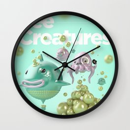 See Creatures!! Wall Clock