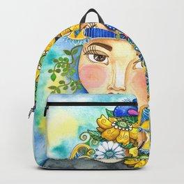 Eighties Side Ponytail Backpack