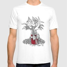 BOUQUET Mens Fitted Tee White MEDIUM