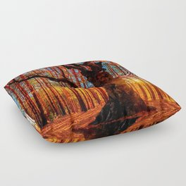 Majestic woods Floor Pillow
