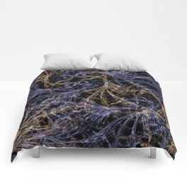 Blue Magical Wisps Comforters