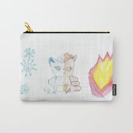 Fire and Ice Vulpix Carry-All Pouch