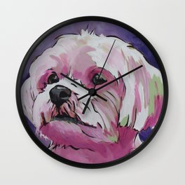 Sophie the Shorkie Wall Clock