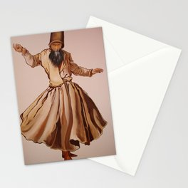 The Remembrance of Allah - A Sufi Whirling Dervish Stationery Cards