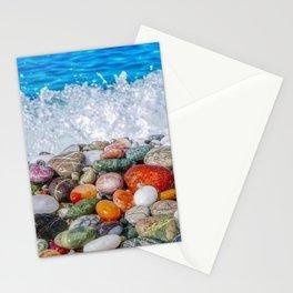 Rainbow Stones Stationery Cards