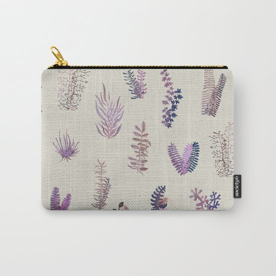 pink garden at day Carry-All Pouch