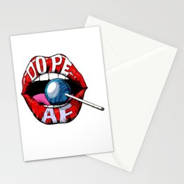 Dope Lips Stationery Cards