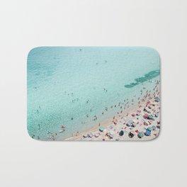 Busy Beach Bath Mat