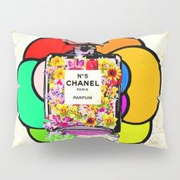 Flowers No 5 Parfum Pillow Sham