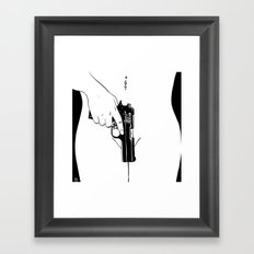 Gun #2 Framed Art Print