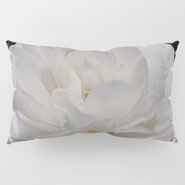 Simply White & Beautiful Flower by Aloha Kea Photography Pillow Sham