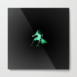 Heros Glitter Art - 6 Metal Print