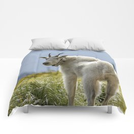 The Ups and Downs of Being a Mountain Goat No. 1 Comforters