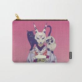Neko Lady Carry-All Pouch