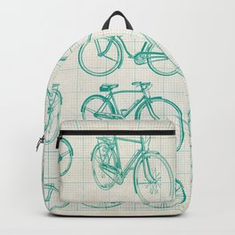 Vintage bikes design Backpack