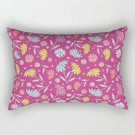 Garden Flowers Style H Rectangular Pillow