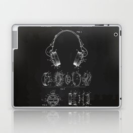 Headphone patent Laptop & iPad Skin