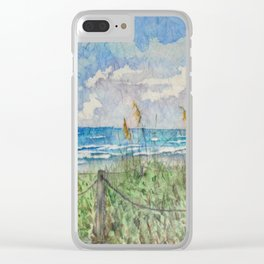 Paradise found Clear iPhone Case