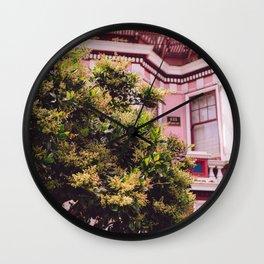 San Francisco Pink II Wall Clock