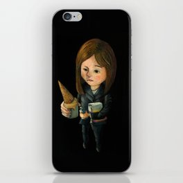 Hello Melted Coffee Ice Cream iPhone Skin