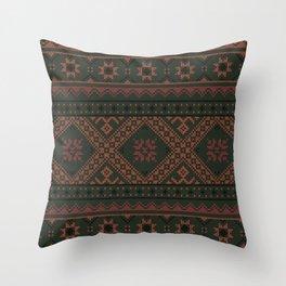 vyshyvanka 5 Throw Pillow