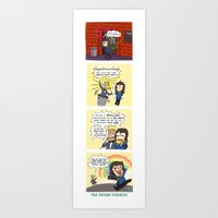 TPG Comic: Social Card Art Print