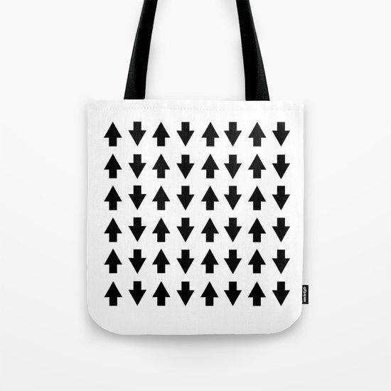 Arrows Black Tote Bag