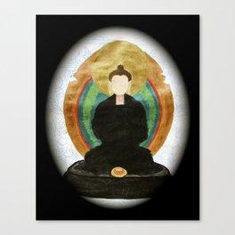 ZAZEN BUDDHA Canvas Print