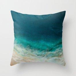 Na'Pali Slendor Throw Pillow