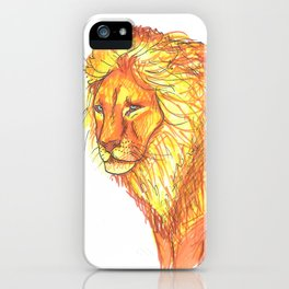 Bright Lion iPhone Case