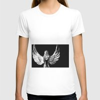 angel wings T-shirts featuring Angel Wings by Shaunia McKenzie