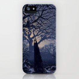 Forest demon iPhone Case